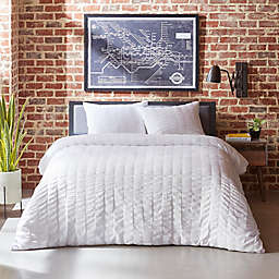 City Scene® Orleans Seersucker 3-Piece Duvet Set