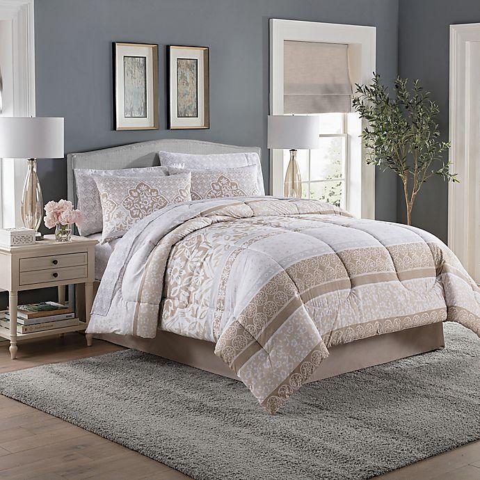 Sears Canada Wedding Gift Registry: Jessie Damask Comforter Set