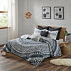 Urban Habitat Larisa King/California King Coverlet Set in Black