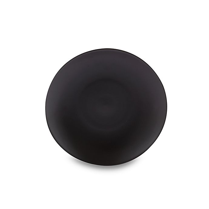 Alternate image 1 for Gibson Home Paradiso 8-1/4-Inch Dessert Plate in Black