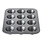 Chicago Metallic™ 12-Cup Nonstick Muffin Pan with Armor-Glide Coating<br />
