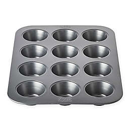Chicago Metallic™ 12-Cup Nonstick Muffin Pan with Armor-Glide Coating