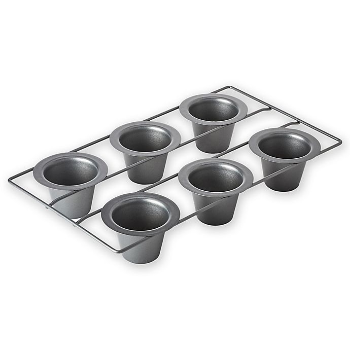 Alternate image 1 for Chicago Metallic™ Professional Nonstick 6-Cup Popover Pan with Armor-Glide Coating