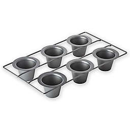 Chicago Metallic™ Professional Nonstick 6-Cup Popover Pan with Armor-Glide Coating