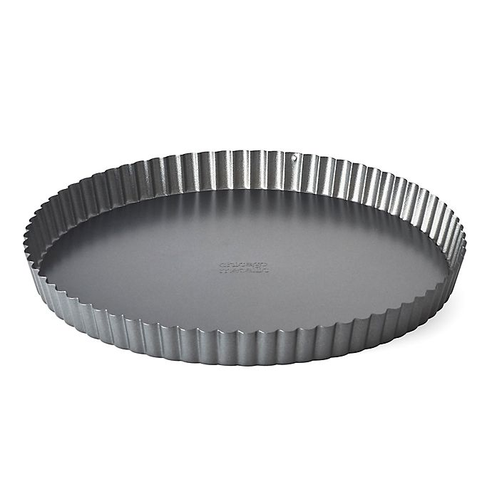 Alternate image 1 for Chicago Metallic™ 11-Inch Non-Stick Tart and Quiche Pan