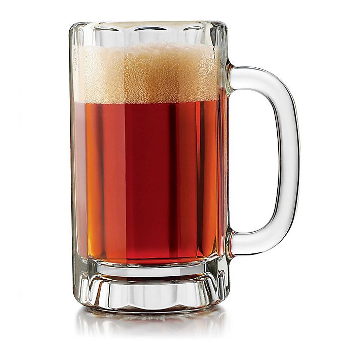 75ffccf3ebc Dailyware™ 16 oz. Beer Mugs (Set of 4) | Bed Bath & Beyond