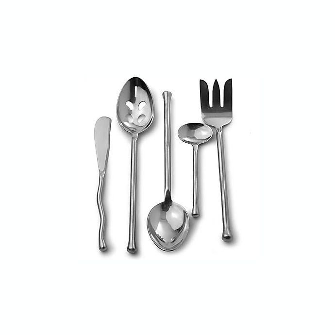 Alternate image 1 for Gourmet Settings Exotique 5-Piece Serving Set