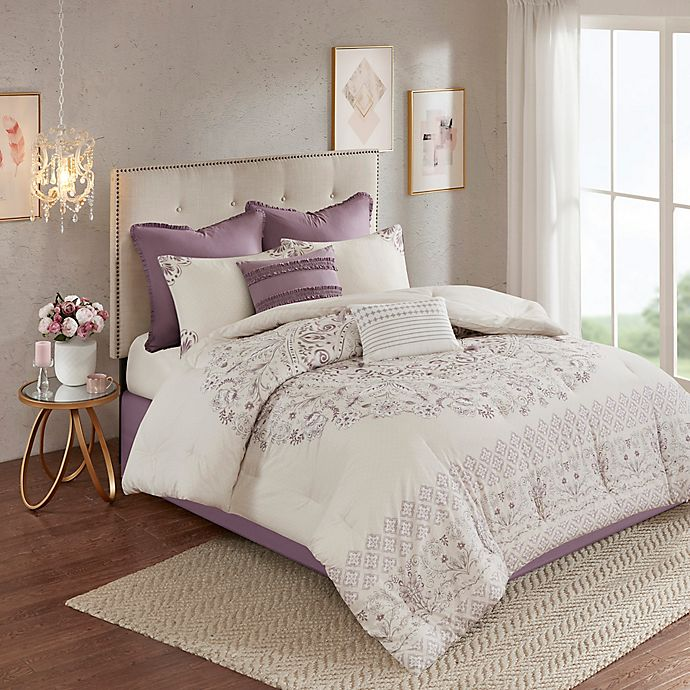 Alternate image 1 for Madison Park Elise Reversible Duvet Cover Set