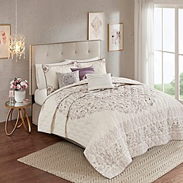Madison Park Elise Reversible Coverlet Set
