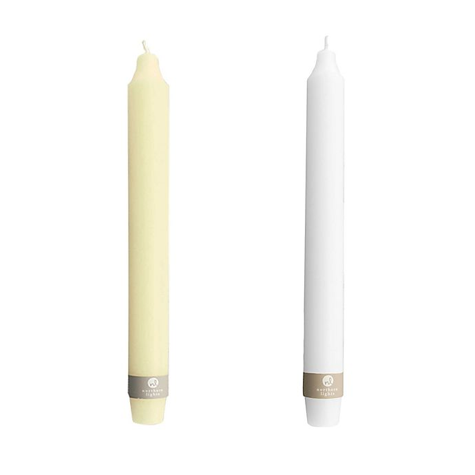 Alternate image 1 for 10-Inch Premium Wide Taper Candle