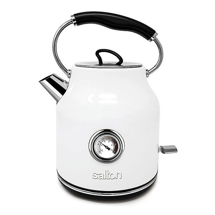Alternate image 1 for Salton® Cordless Kettle with Temperature Display