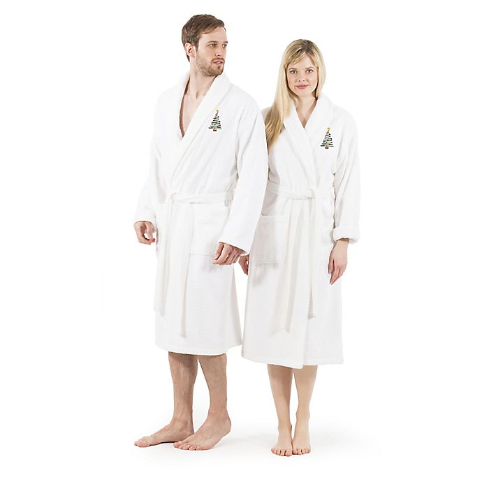 Alternate image 1 for Linum Home Textiles Christmas Tree Bathrobe