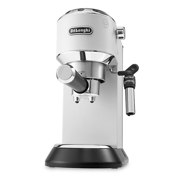 Alternate image 1 for De'Longhi Dedica Deluxe Espresso Machine in White