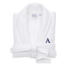 Linum Home Textiles Personalized Waffle Terry Bathrobe