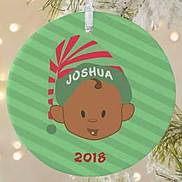 Christmas Character 1-Sided Matte Christmas Ornament