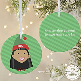 Christmas Character 2-Sided Matte Christmas Ornament
