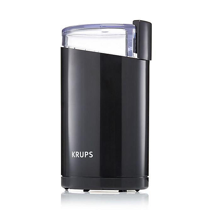 Alternate image 1 for Krups® Black Coffee Grinder