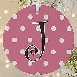 Dot to Dot 1-Sided Matte Christmas Ornament