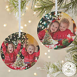 Picture Perfect 2-Sided Matte Christmas Ornament
