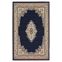 Unique Loom Washington Mashad Powerloomed Rug