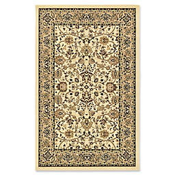 Unique Loom Sialk Hill Washington Rug in Ivory
