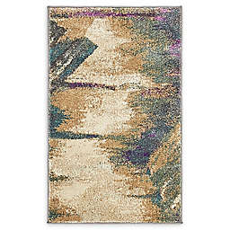 Unique Loom Trosa Stockholm 2' x 3' Powerloomed Accent Rug in Beige