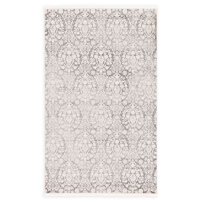 Alternate image 1 for Unique Loom Tyche Arcadia Rug in Light Grey