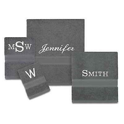 Wamsutta® Personalized Icon PimaCott® Towel Collection