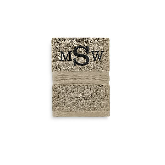 Alternate image 1 for Wamsutta® Icon PimaCott® Monogram Hand Towel