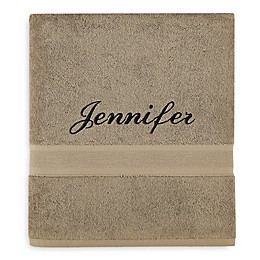Wamsutta® Icon PimaCott® Monogram Bath Sheet