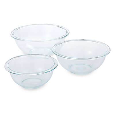Pyrex® 3-Piece Mixing Bowl Set