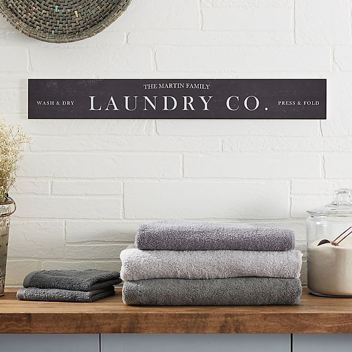 Laundry Room 29 Inch X 4 Inch Wooden Sign Bed Bath Beyond
