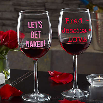 Sweet Drinks Personalized 19.25 oz. Red Wine Glass