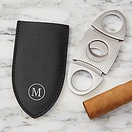Cigar Cutter with Leather Pouch