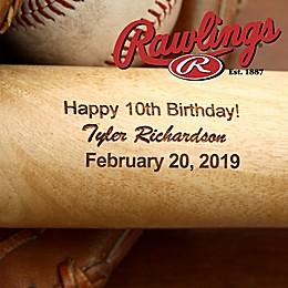 Rawlings® Grand Slam Birthday Baseball Bat
