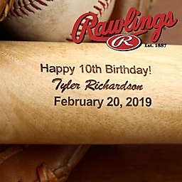 Rawlings® Grand Slam Birthday Baseball Bat