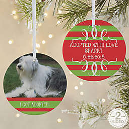 Classic Christmas 2-Sided Matte Christmas Ornament