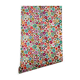 Deny Designs Sharon Turner Freckle Spot 2-Foot x 4-Foot Peel & Stick Wallpaper