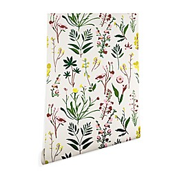 Deny Designs Holli Zollinger Wildflower Study Light Peel and Stick Wallpaper
