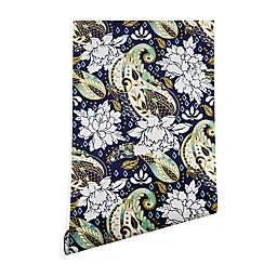 Deny Designs Marta Barragan Camarasa Paisley Bloom Peel and Stick Wallpaper