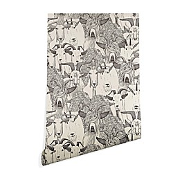 Deny Designs Sharon Turner Just Goats Peel and Stick Wallpaper