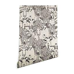 Deny Designs Sharon Turner Just Goats Peel & Stick Wallpaper