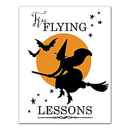 """Designs Direct """"Free Flying Lessons"""" 11-Inch x 14-Inch Canvas Wall Art"""