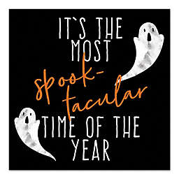 """Designs Direct """"It's The Most Spooktacular Time of The Year"""" Canvas Wall Art"""