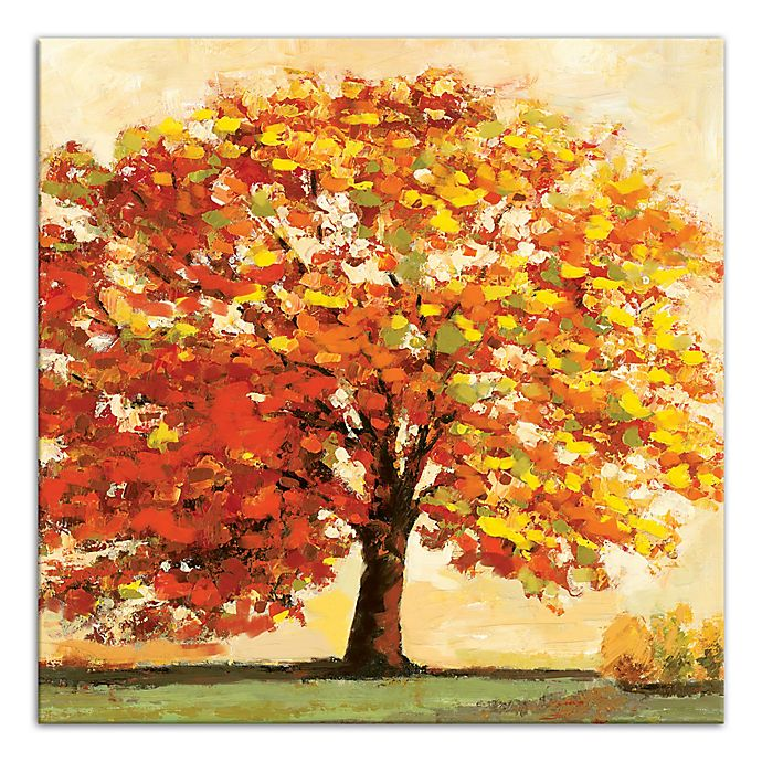 Alternate image 1 for Designs Direct Fall Tree 16-Inch Square Canvas Wall Art