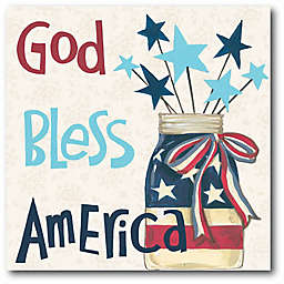 Courtside Market American Country II 18-Inch x 18-Inch Wall Art