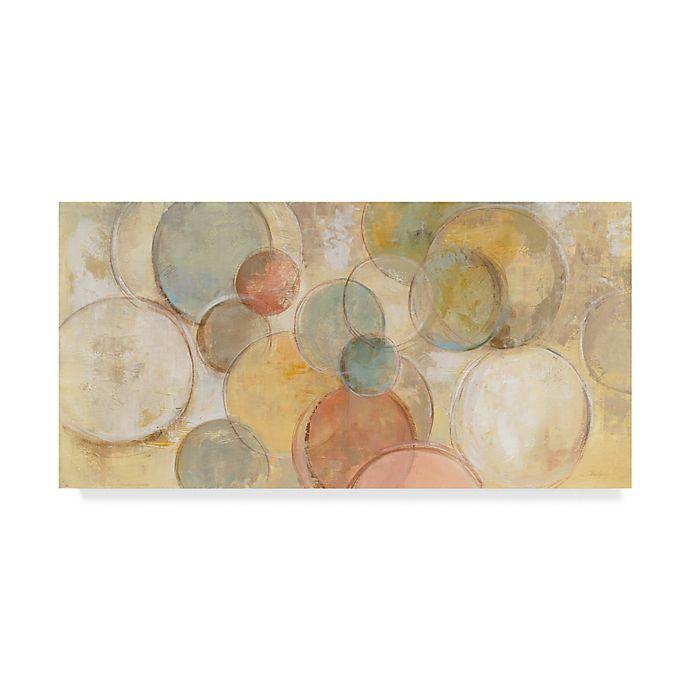 Alternate image 1 for Trademark Fine Art Fresco Bubbles 10-Inch x 19-Inch Canvas Wall Art