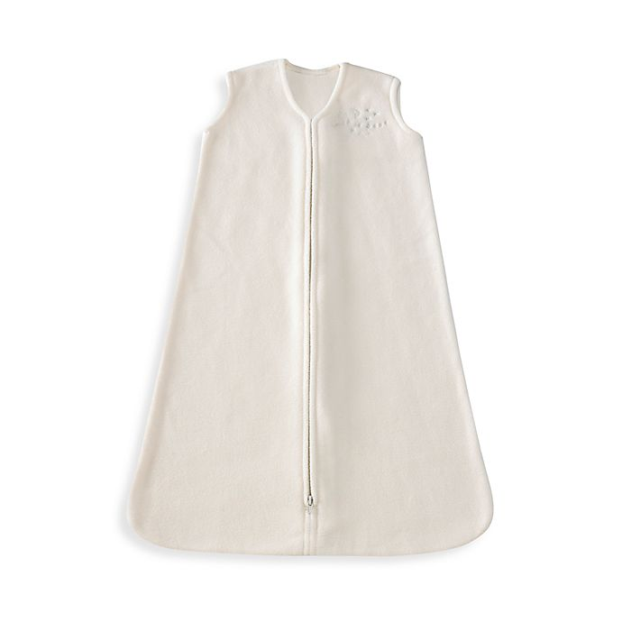 Alternate image 1 for HALO® SleepSack® Small Micro-Fleece Wearable Blanket in Cream