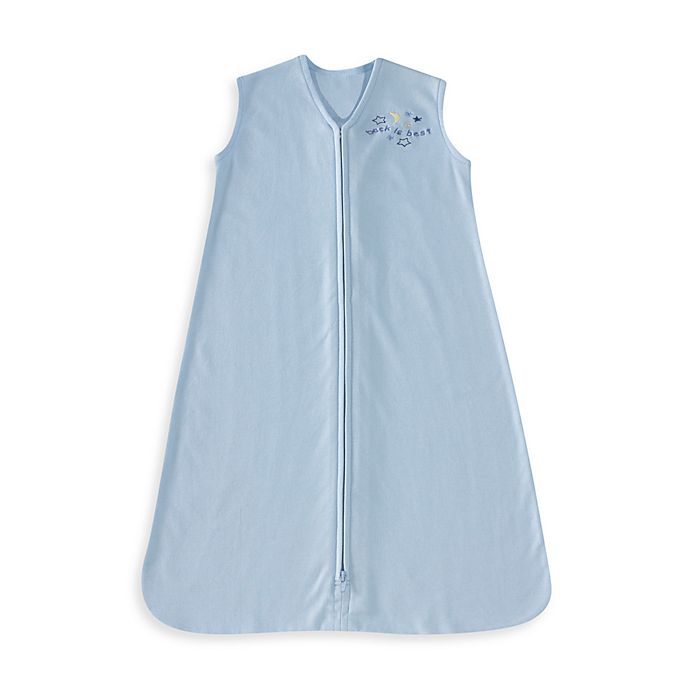 Alternate image 1 for HALO® SleepSack® Small Cotton Wearable Blanket in Blue