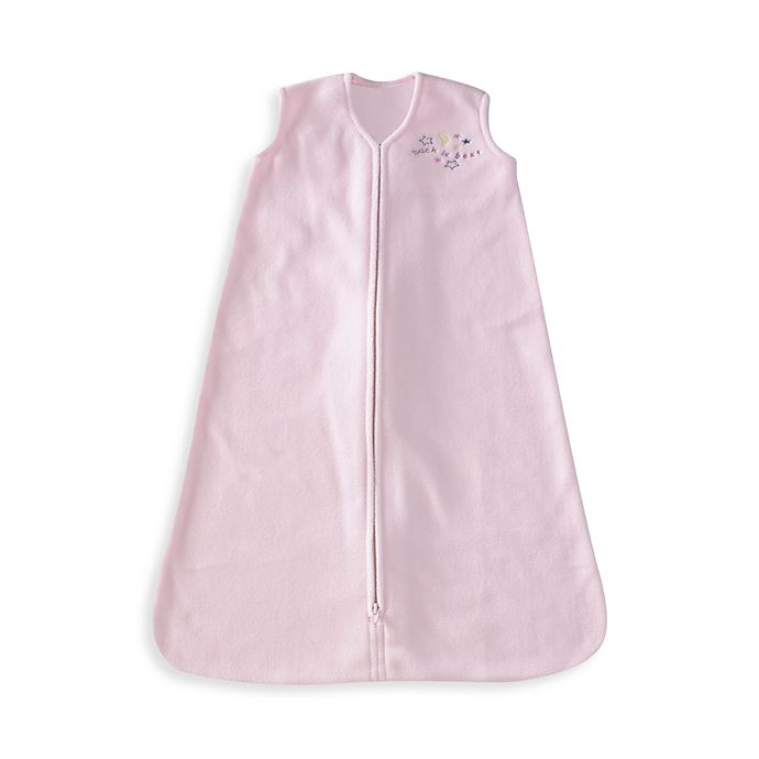 Alternate image 1 for HALO® SleepSack® Small Micro-Fleece Wearable Blanket in Pink
